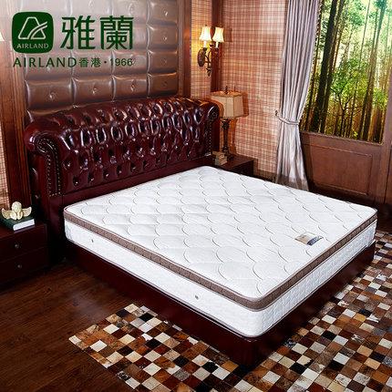 弹簧床垫品牌_雅兰床垫欧式奢华软硬两用弹簧床垫1.8米|旗舰专卖店