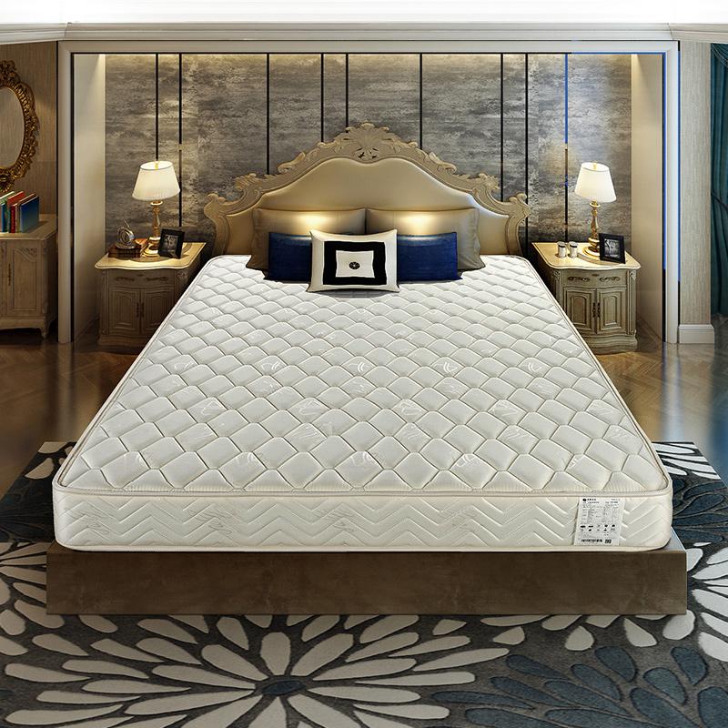 雅兰床垫双面加硬迪梦堡弹簧1.5 1.8米席梦思